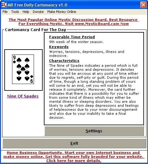 Download MB Daily Cartomancy