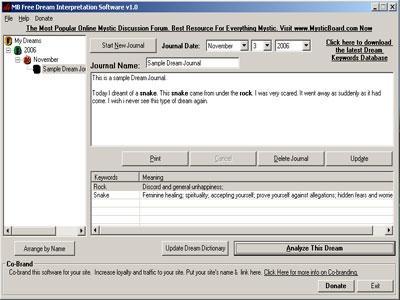 Download MB Dream Interpretation Software
