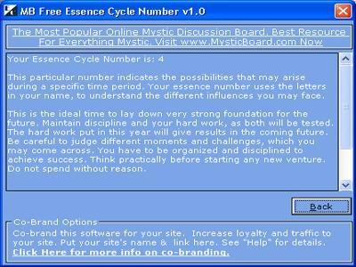 Download MB Essence Cycle Number