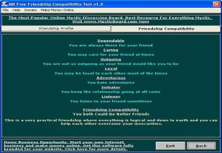 Download MB Friendship Compatibility Test