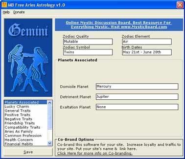 Download MB Gemini Astrology