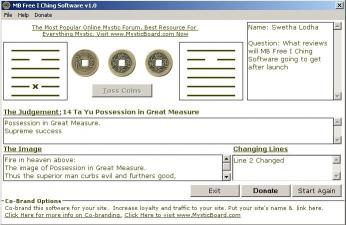 Download MB I Ching Software