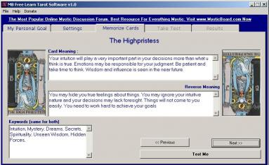 Download MB Learn Tarot Software