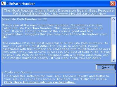 Download MB Life Path Number