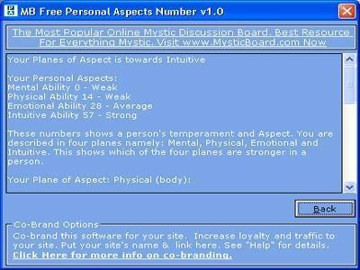Download MB Personal Aspects Number
