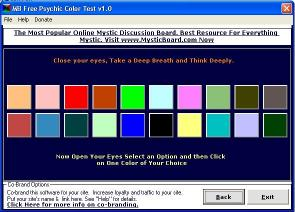 Download MB Psychic Color Test