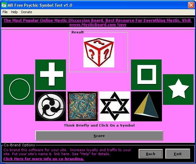MB Psychic Symbol Test - standaloneinstaller com