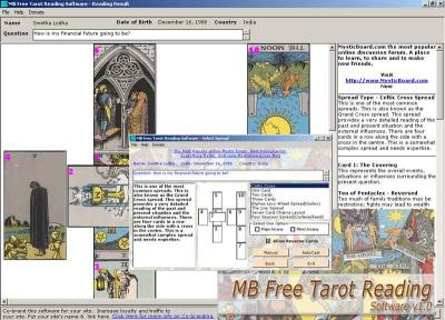 Download MB Tarot Reading Software