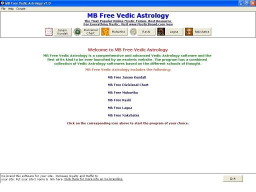 Download MB Vedic Astrology