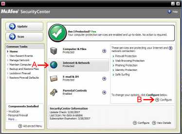 McAfee Wireless Security