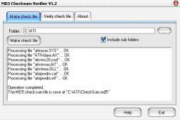 Download MD5 Checksum Verifier