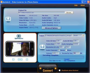 Download MediaCell iPhone Video Converter