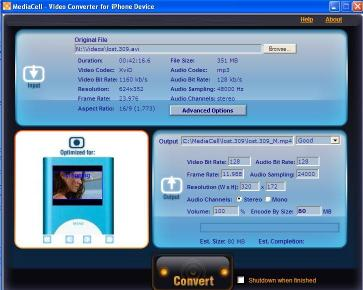 Download MediaCell iPod Video Converter