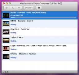 MediaHuman Video Converter MAC