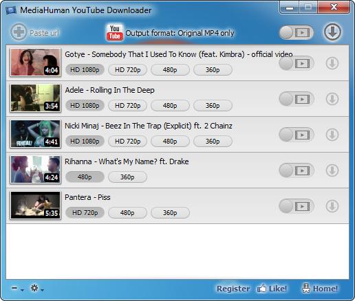 MediaHuman YouTube Downloader - standaloneinstaller com