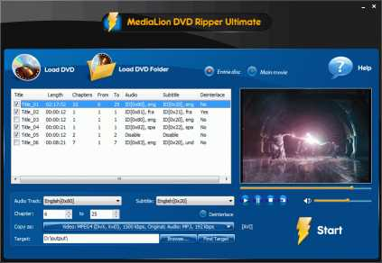 Download MediaLion DVD Ripper Pro 2015