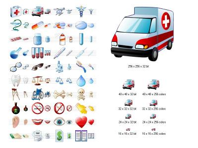 Download Medical Icon Set