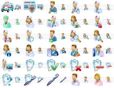 Download Medical Icons for Vista