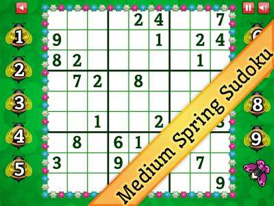 Medium Spring Sudoku