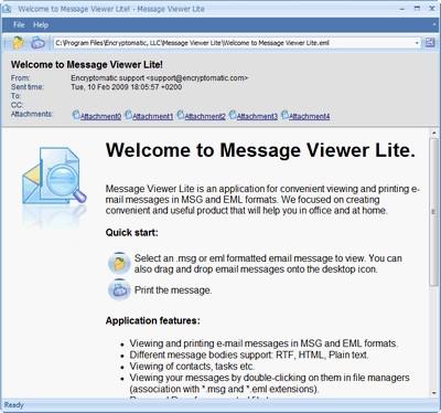 Download MessageViewer Lite email viewer