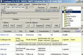 Download MetaDataMiner Catalogue PRO Francais