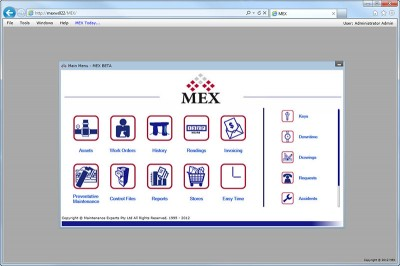 Download MEX Maintenance Software