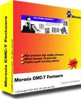MICR CMC7 Fonts