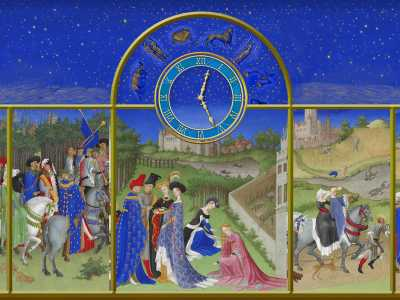 Middle Ages Clock ScreenSaver