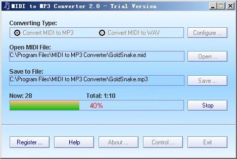Download MIDI to MP3 Converter