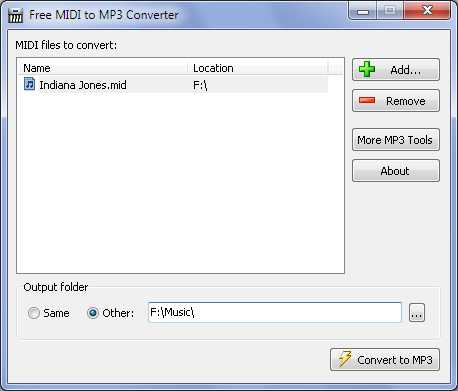 Download MIDI to MP3 Converter Free