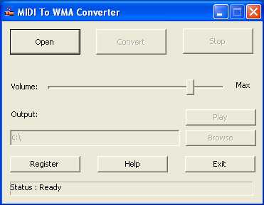 Download MIDI To WMA Converter