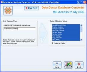 Download Migrate MS Access Database