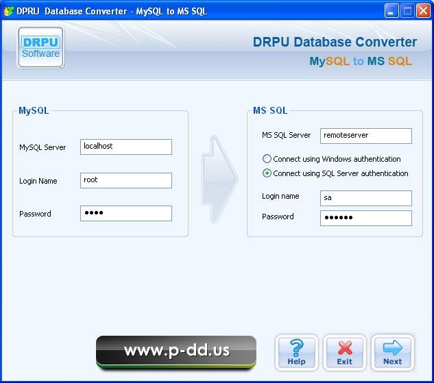 Migrate MySQL To MS SQL Database - standaloneinstaller com
