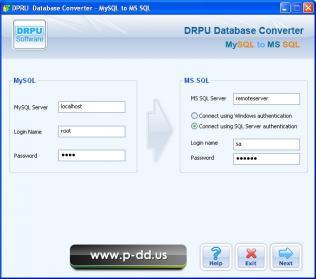Download Migrate MySQL To MS SQL Database