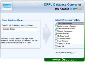 Download Migrate Your MS Access Data to MySQL