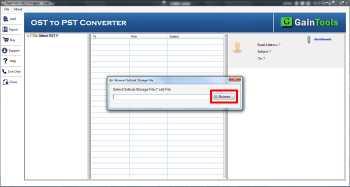 Migrazione OST a PST 2010 Free Software 3.0