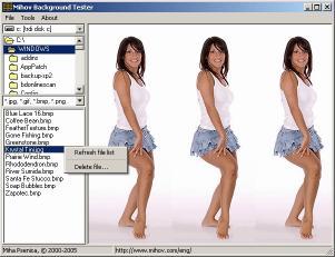 Download Mihov Background Tester