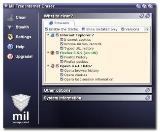 Download Mil Free Internet Eraser