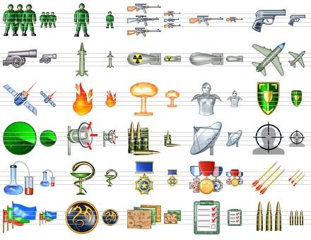 Download Military Icon Set