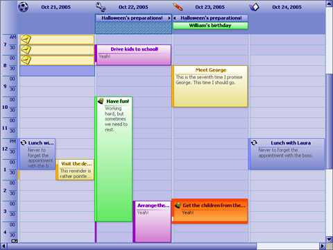 Download MindFusion.Scheduling for Silverlight
