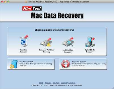 Download MiniTool Mac Data Recovery Free Edition