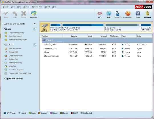 Download minitool partition wizard bootable cd 9. 1 (free) for windows.