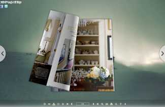 Misty Style Theme for 3D Book