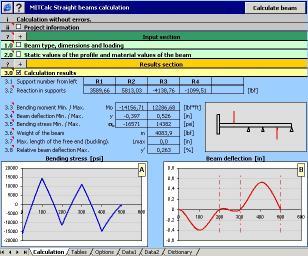 Download MITCalc - Beam Calculation