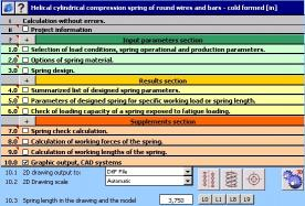 Download MITCalc - Compression Springs