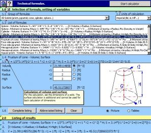 Download MITCalc - Technical Formulas