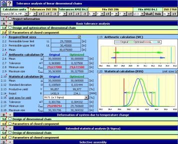 Download MITCalc - Tolerance analysis