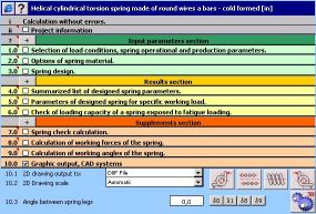 Download MITCalc - Torsion Springs