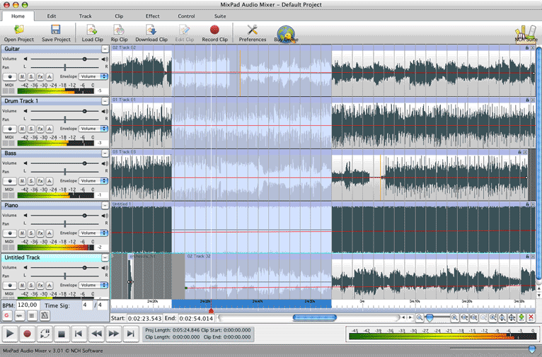 Mixpad audio mixer download & reviews 100% free download.