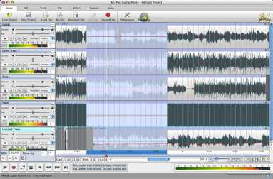 MixPad Free Music Mixer and Studio Recorder for Mac